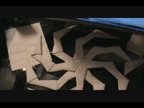 Papercraft Hachi Shuriken Tutorial [part 2]