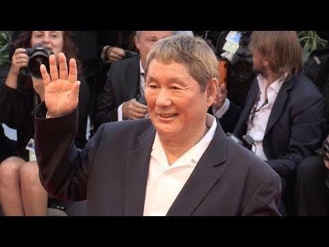 Takeshi Kitano at 2017 Venice Film Festival closing ceremony red carpet
