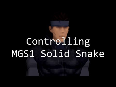 How To Control MGS1 Snake (Controls, Guards, And Techniques)