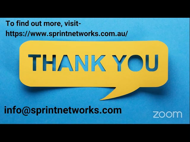 Sprint Networks Secure Remote Working Solution