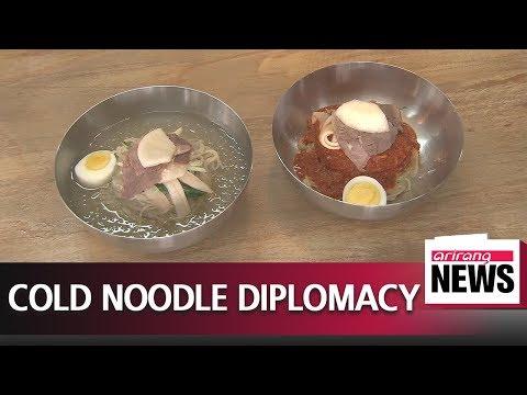 Summit menu prompts interest in N. Korean cold noodles