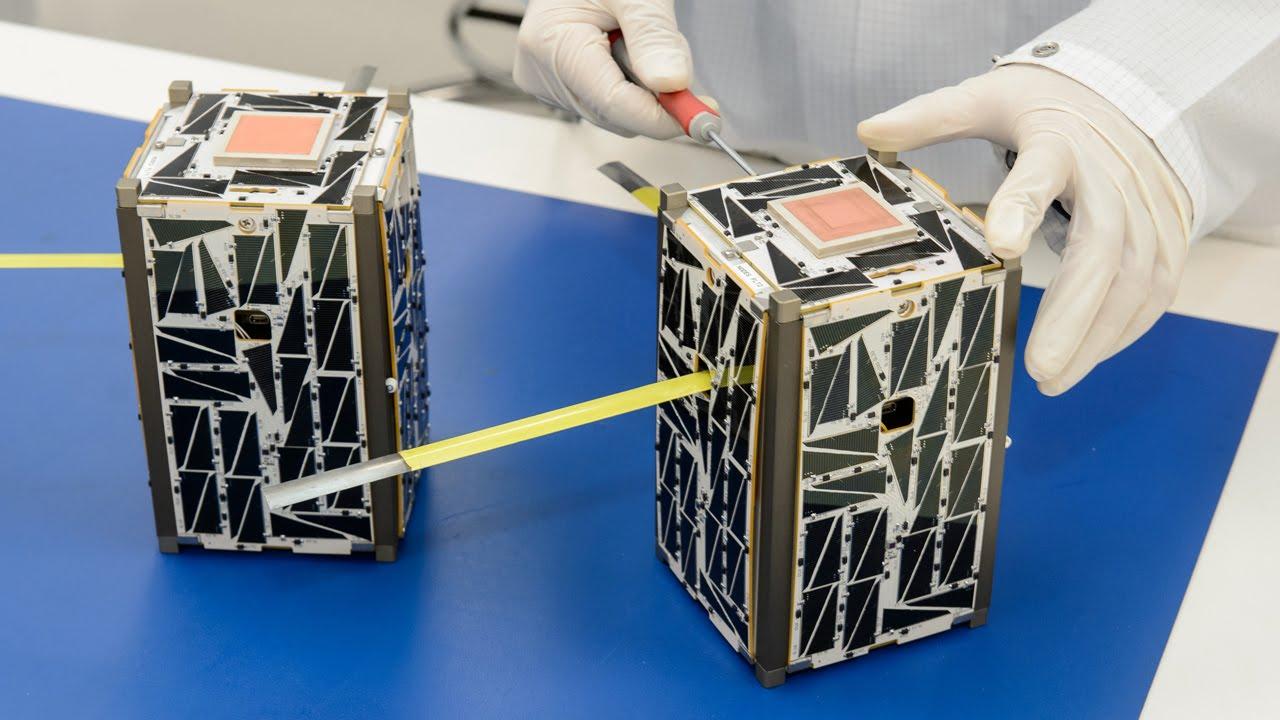 NASA Small Satellites to Demonstrate Swarm Communications ...
