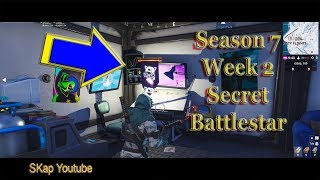 Fortnite - Secret Battlestar Saison 7 Semaine 2 LOCATION