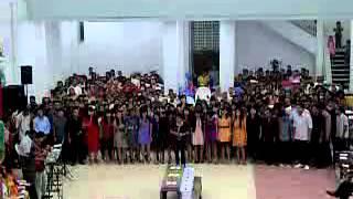 doa untuk keluarga PS Pemuda Paulus Kupang @malam kunci tahun 2011