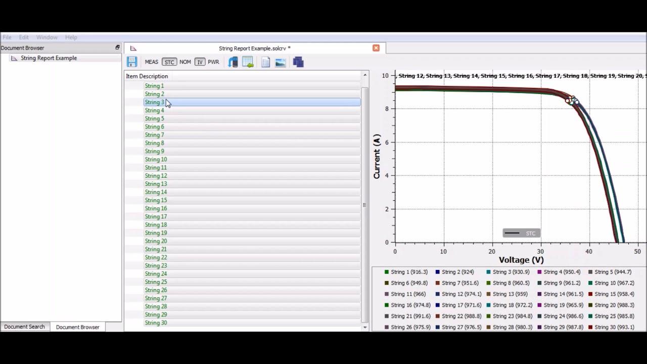 SolarCert Solar PV Reporting Software | Free 14 Day Trial | Seaward