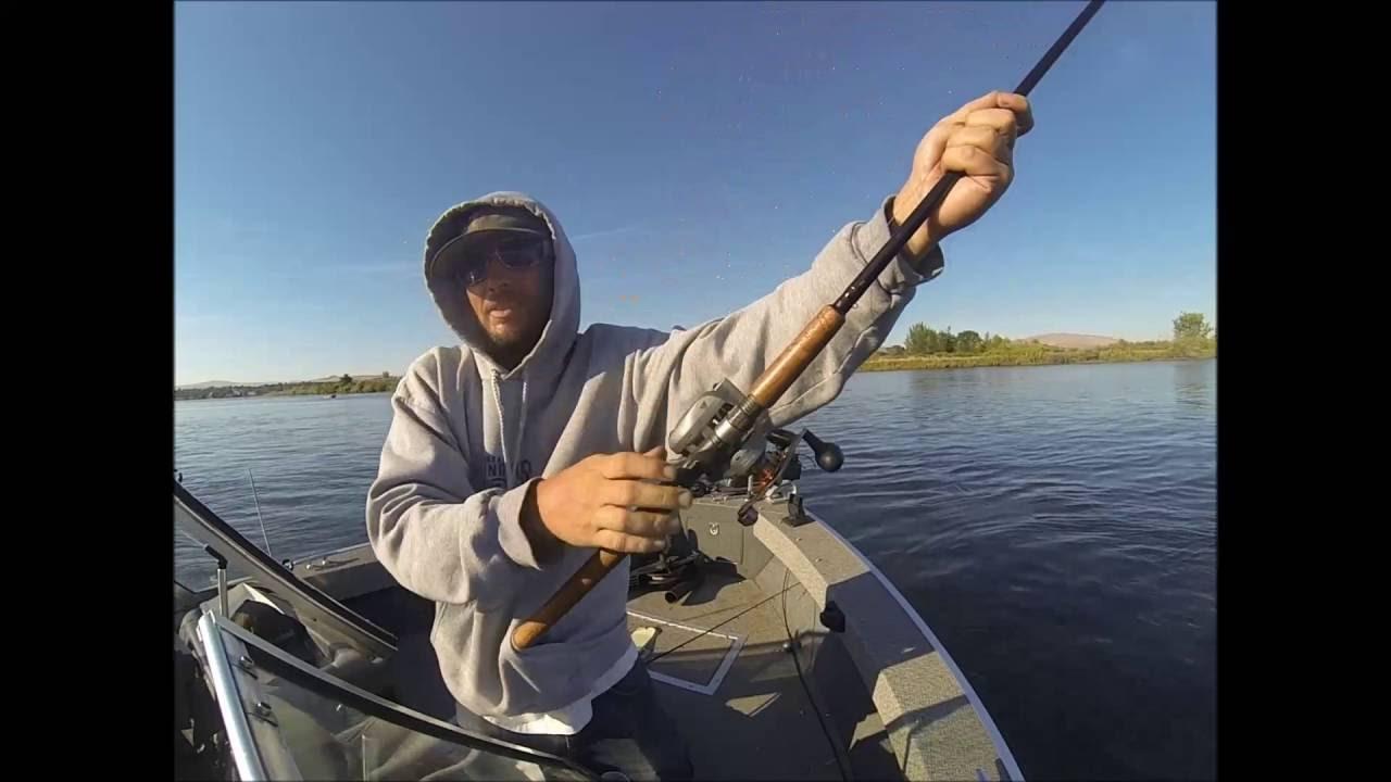 Salmon fishing columbia river pasco wa youtube for Fishing columbia river