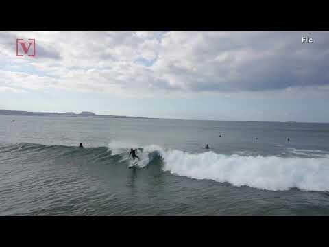 SHORT-E - Florida Surfer Goes To Bar Not Hospital After Shark Attack
