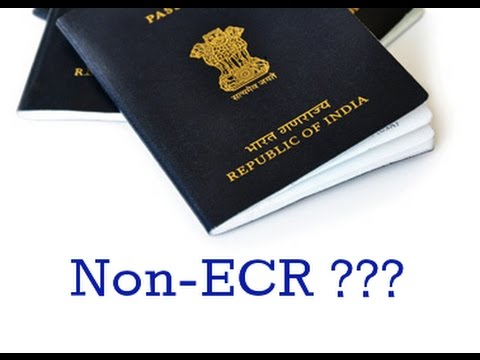 What Is Ecr And Ecnr In Passport Which Option To Selecthindi