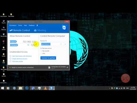 Control Your PC Remotely Using Another PC | Share Files And Chat | Teamviewer
