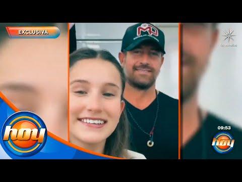 Gabriel Soto aconseja a su hija ahora que incursionará en la telenovela 'Si nos dejan' | Hoy