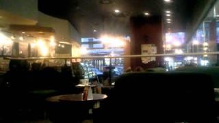 Inside Starbucks Coffee Archa - Prague Cafes