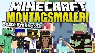 Minecraft MONTAGSMALER - Krüppel-Krabbe! | ungespielt