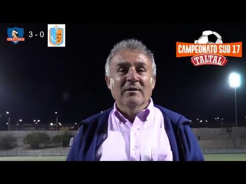 Taltal vs Colo-Colo - Campeonato Sub-17