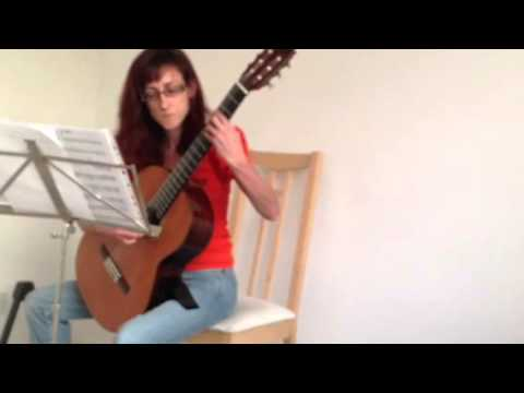 Lily Of The Valley By Queen (classical Guitar Version)