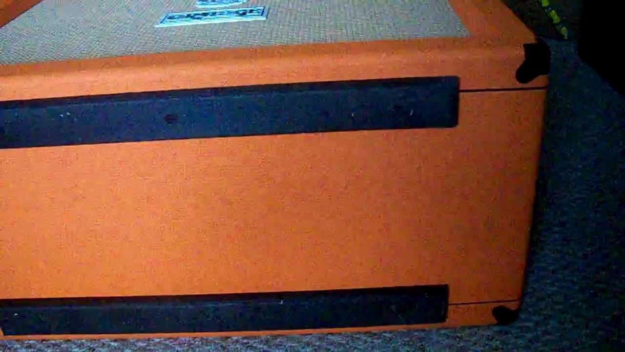 Orange Ppc 212 Cab Unboxing Youtube