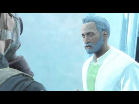 Fallout 4 Entering The Institute and Meeting you son, Shaun, for the first time.