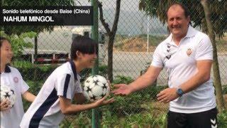 Declaraciones de Rubén Fonte y Nahum Mingol desde Baise (China)