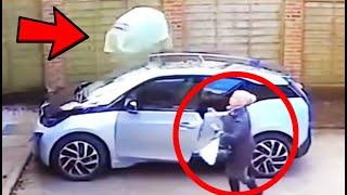 STRANGE EVENTS CAUGHT ON CCTV …