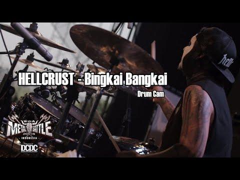Andyan Gorust I Hellcrust - Bingkai Bangkai drum cam