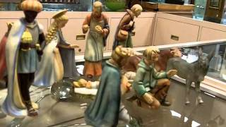 Vintage Hummel Figurine Nativity Set From Our Antiques Mall.