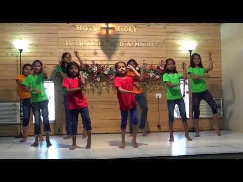 Shekinah Ministries Christmas 2017 Kisan Nagar Kids Dance