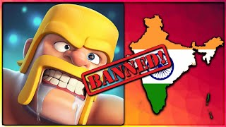 COC BANNED IN INDIA? WHAT WILL HAPPEN IF COC IS BANNED! CLASH OF CLANS•FUTURE T18
