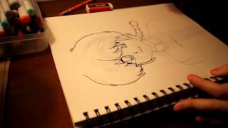 How to Draw - Ranma Saotome - (Inking)