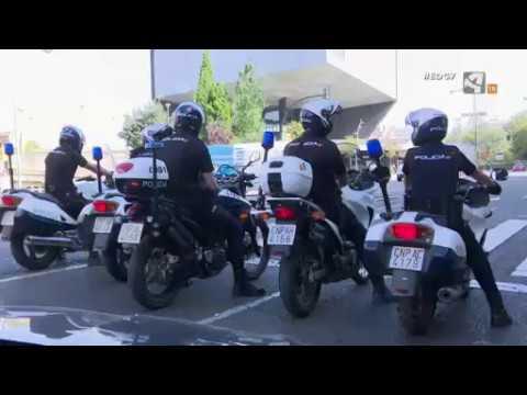 Centellas de Policía Nacional