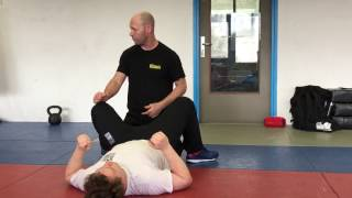 Releases from Chokes on the Ground, with Amnon Darsa at Institute Krav Maga Netherlands.