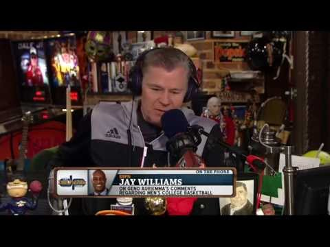 Jay Williams on The Dan Patrick Show (Full Interview) 04/03/2015