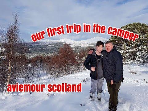 scotland trip with son