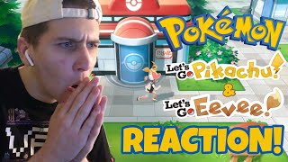 Pokémon Let's Go Pikachu/Eevee Trailer REACTION!!