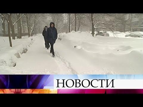 Ульяновская область переживает последствия настоящего снежного шторма.