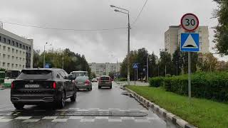 По улицам Обнинска 22.09.210900.ул Курчатова.