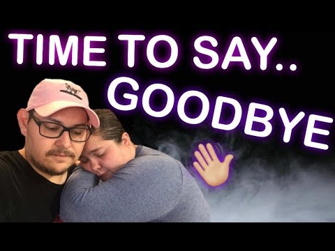 IT'S TIME TO SAY GOODBYE !!