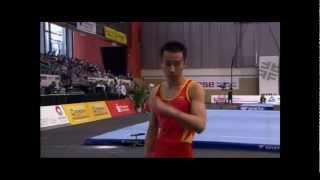 Xiao Qin On Pommel Horse, World Cup Gymnastics Cottbus, 2012