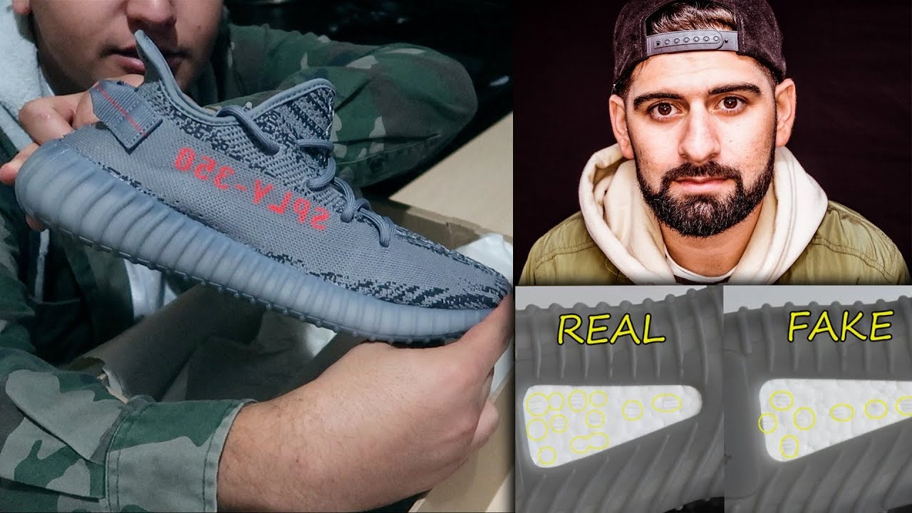 cf57969974d98 Yeezy Boost 350 V2 Beluga 2.0 UNBOXING+REVIEW (Real vs Fake ) ON FOOT!