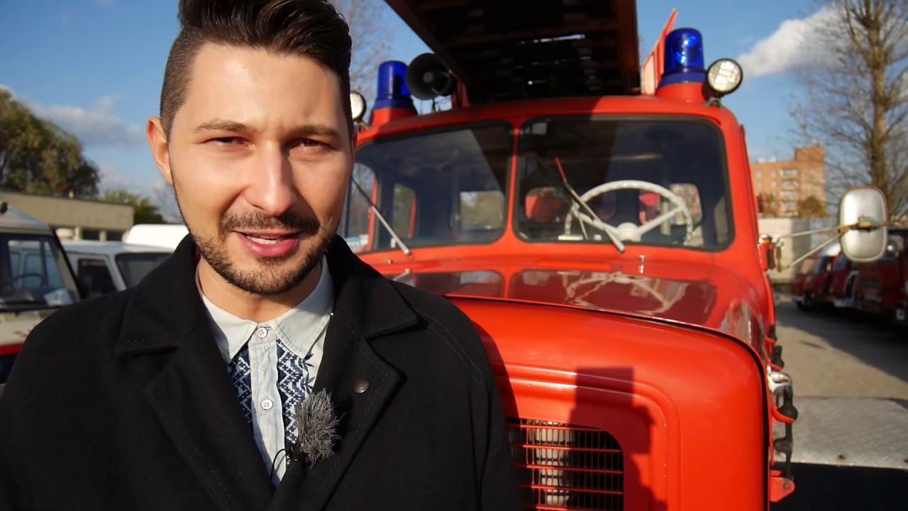 Wóz strażacki Magirus-Deutz zastąpił Malucha + konkurs dla widzów – [TO JUŻ BYŁO]