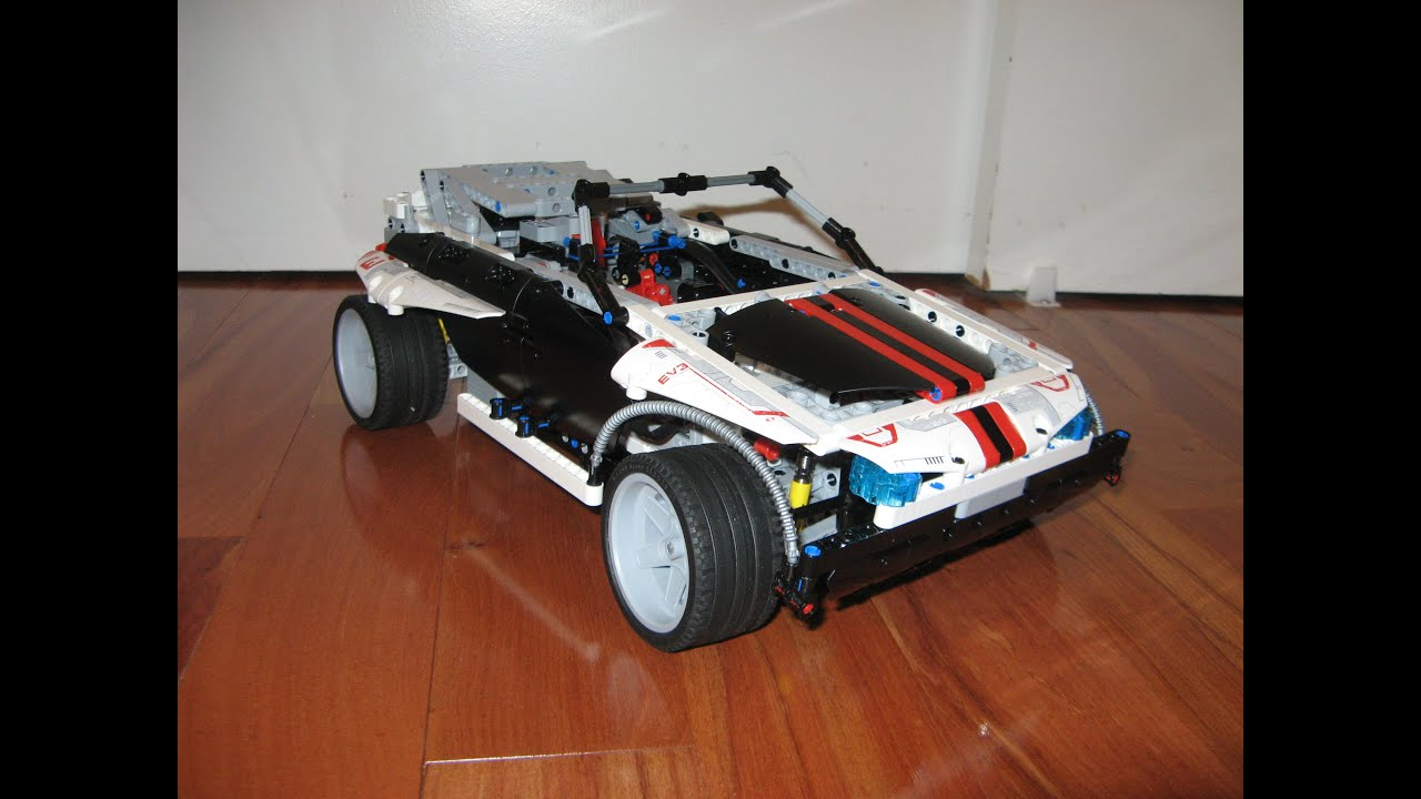 Plethora II, an RC Race Car - MINDSTORMS EV3 Creations
