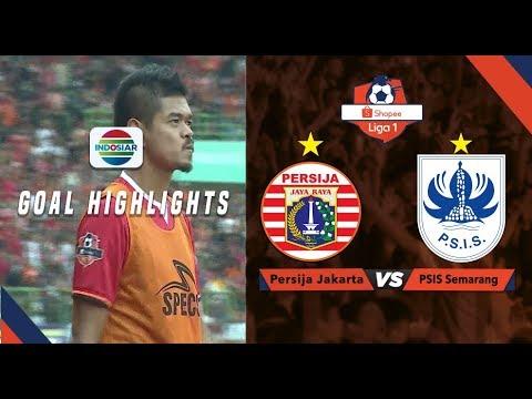 Persija Jakarta (2) vs (1) PSIS Semarang - Goal Highlights | Shopee Liga 1