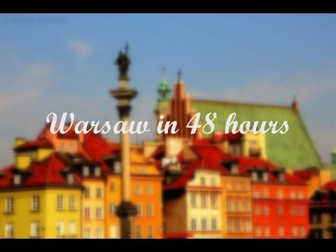 How to visit Warsaw in 48 hours // Zwiedzanie Warszawy w 48 godz. (napisy PL)