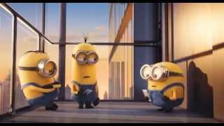 小黄人Minions 最新手机广告,实在太可爱了!!