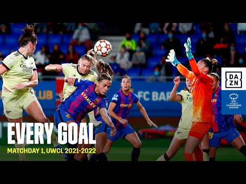 Every Goal From Matchday 1 | UWCL 2021-2022