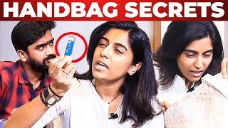 Singer Darshana KT Handbag Secrets Revealed | What's Inside the Handbag