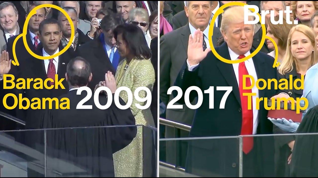 Barack obama 2009 donald trump 2017 2 mois la maison for Barack obama maison blanche