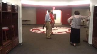 Alabama Crimson Tide Locker Room