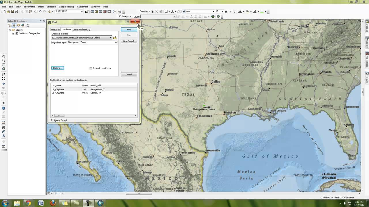 How To Make A Simple Map In ArcMap YouTube - Making map of us in r