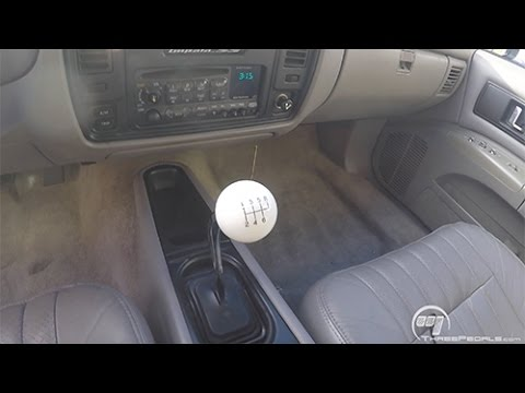 impala ss 6 speed by three pedals youtube rh youtube com 96 impala ss manual transmission 1996 impala ss manual