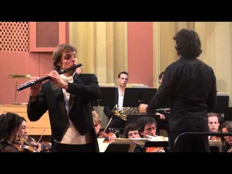 Mendelssohn violin ( flute ) concerto mvt2 Sébastian Jacot, Prof. Jacques Zoon
