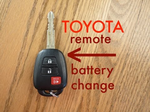 How To Program Toyota Chip Key: Camry Sienna Corolla Hi ...